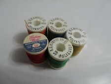 S. S. Kresge Vintage Sewing Thread Spools and 1 Fashion Mode Spool