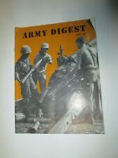 Vintage April 1967 Army Digest Magazine