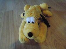 Walt Disney Store Pluto Puppy Dog Bean Bag Buddy Plush Doll Toy Stuffed Animal