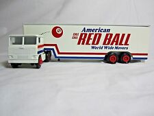 """Winross 1980 RED BALL MOVERS  """"Call call American Red Ball Movers"""" Dropbed"""