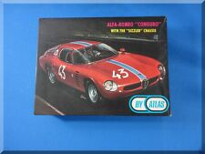ATLAS 1:24 SCALE RED BODY SHELL ALFA-ROMEO CONGURO SLOT CAR RACING KIT 1663-498
