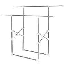 Attaccapanni pieghevole appendiabiti altezza regolabile stender porta oggetti  n