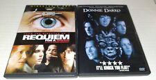 Requiem For A Dream & Donnie Darko 2 dvd lot