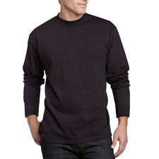 Angora Wool Unisex Black Thermal Long Sleeve Men / Women Undershirt  SIZE XXL