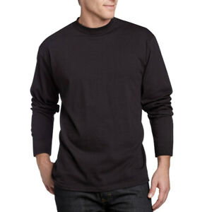 Angora Wool Unisex Black Thermal Long Sleeve Men / Women Undershirt  SIZE XXL