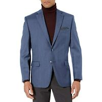 Calvin Klein Men's Slim Fit Suit Jacket (Blue, 42 Regular)