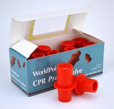 Worldpoint CPR Practi-Valve Training Valves 10 pack Manikin Valve Free Shipping