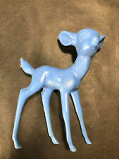Vintage Disney Bambi Blue Plastic Marx Toys