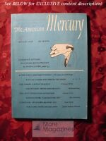 AMERICAN MERCURY Magazine August 1949 CLEMENT ATTLEE BEN RAY REDMAN DON WHARTON