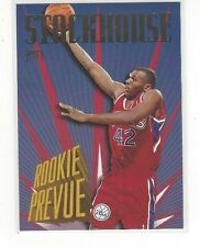 1995-96 SKYBOX PREMIUM BASKETBALL ROOKIE PREVIEW JERRY STACKHOUSE #RP3 - 76ERS