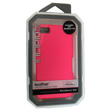 NEW OEM Incipio Blackberry Z10 BB10 Neon Pink Feather Ultra Thin Snap On Case
