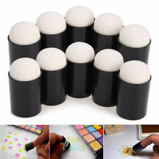 40Pcs Finger Daubers Ink Chalk Sponge Painting Stamping Art Craft Paint Tools