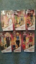 WWE Superstars Fashion dolls and Superstar dolls Lot of 6