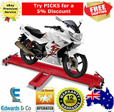 Motorcycle Motorbike Garage Mover Dolly Steel 250kg Load Capacity Parking Stand