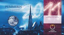 Österreich 5 Euro 2011 Silber Pummerin hgh im Blister