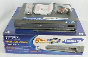 Samsung DVD-C631P Multi Mode Progressive Scan 5 Disc DVD Changer Player NEW!