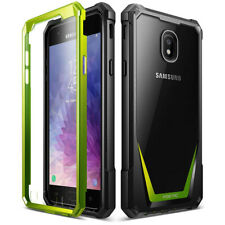 Samsung Galaxy J7 Case,Poetic Hybrid Shockproof Bumper Protective Cover Green