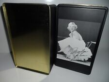 Marilyn Monroe Tin Box - Brand Tropico Paris with her Picture and Signature