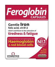 Vitabiotics Feroglobin B12 Slow Release Capsules 30 - Iron Vitamin B12