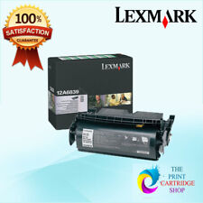 New & Genuine Lexmark 12A6839 Black Toner Cartridge T520 T522 X522 X520 20K Page