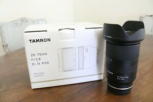 Tamron 28-75mm F/2.8 Di III RXD NEW Lens Sony