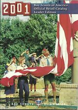 BOY SCOUT - 2001 OFFICIAL CATALOG - LEADER EDITION                       XX