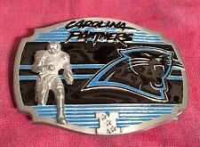 CAROLINA PANTHERS PLAYER BELT BUCKLE NFL BUCKLES NEW