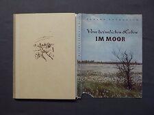 Buch, Erhard Frommhold, Vom heimlichen Leben im Moor, Brehm-Bücherei 1956