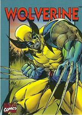 1994 WOLVERINE 2nd Edition CRUNCH N' MUNCH  Marvel Promo card: food premium .