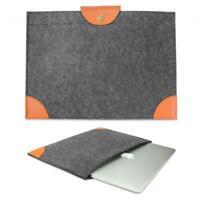 Urcover® 15 Zoll Laptop Tablet Tasche Schutzhülle Case Cover Schwarz / Braun
