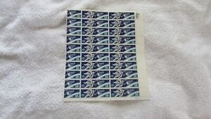 Scott #1331-32 5¢ Spce Twins  stamps. MNH Sheet of 50