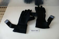 Xcel Wetsuits 3/2 mm Titanium Dive 5 Finger Gloves Black SIZE XL NEW OEM Genuine