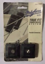 NEW Old Stock POLYFORM True Fit Fender System PARALLEL CONNECTOR TFR403 1 PAIR