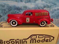 1/43 Brooklin models ( England) BRK 9X 1940 FORD DELIVERY VAN WEETIES AUSTRALIA
