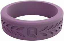 QALO Womens Lilac Laurel Q2X Silicone Functional Wedding Ring NEW