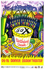 Chance The Rapper Birthday Circuit 2014 Denver 11x17 Concert Flyer / Gig Poster