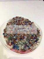 Wholesale 1/2lb Multicolor Bulk CRYSTAL stone GRAVEL CRYSTAL Tumbled REIKI 5-7mm