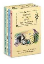 Winnie the Pooh by AA Milne 4 Book Box Set The Complete Collection Now We Are 6