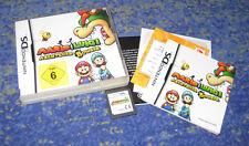 Nintendo DS Spiel MARIO Luigi Abenteuer Browser kpl. Top Zustand DEUTSCH