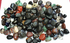 Gemstone and Tumblestone Lucky Dip 5 Crystals with Bag - Pagan/Wicca/Polished