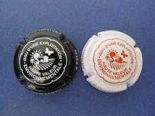 lot de 2 capsules de champagne JANISSON-BARADON n°57 et 57a