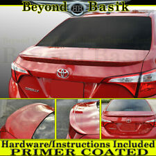 For 2014 15 16 17 18 2019 Toyota Corolla 4dr Factory Style Spoiler PRIMER