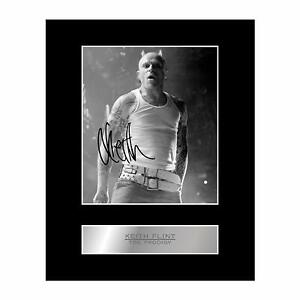 Keith Flint Signed Mounted Photo Display The Prodigy Autographed Gift Picture Pr