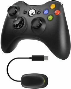 Xbox 360 Wireless Controller with Adapter Receiver for PC Windows 7 8 10 Games