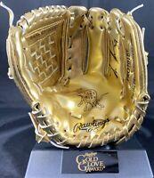 Kevin Kiermaier autographed signed golden glove MLB Tampa Bay Rays JSA COA