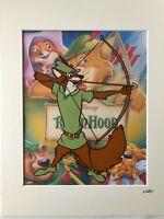 Disney - Robin Hood - Robin - Hand Drawn & Hand Painted Cel