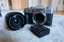 Fujifilm X-T20 Mirrorless Digital Camera - Silver with 16-50mm Lens