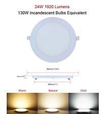 LED Round Dimmable 6W 9W 12W 15W 18W 21W 24W Recessed Ceiling Panel Light Bulbs