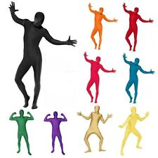 Full Body Lycra Spandex Skin Suit Catsuit Halloween Party Zentai Costumes Unisex