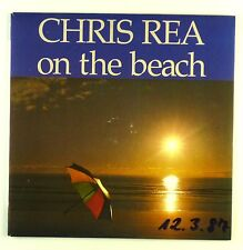 """7"""" Single - Chris Rea - On The Beach - #S1134 - washed & cleaned"""